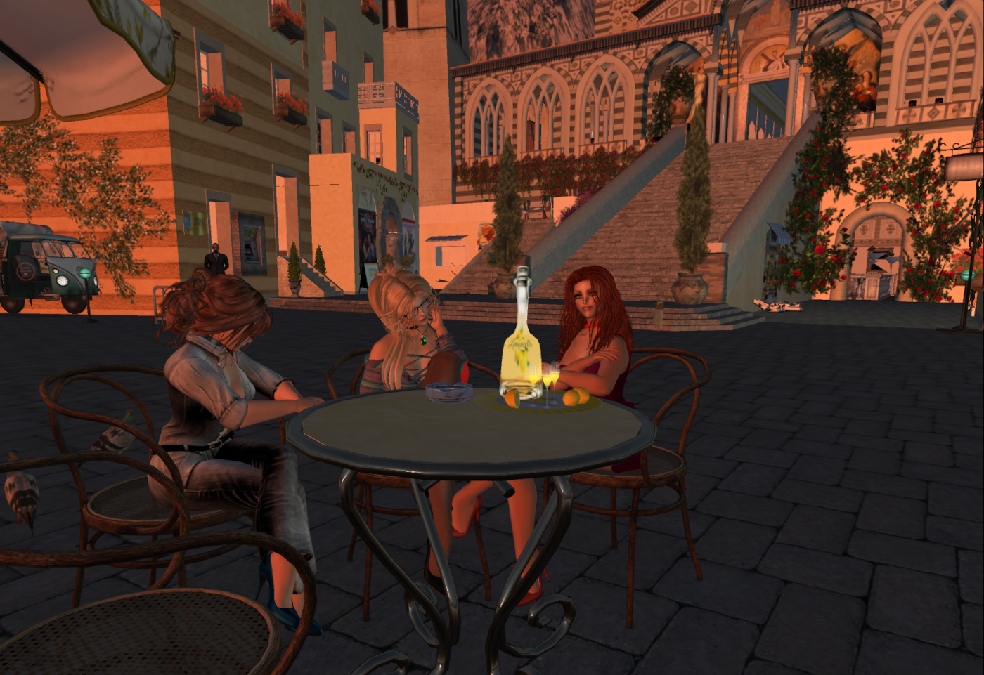 Aperitif in Amalfi